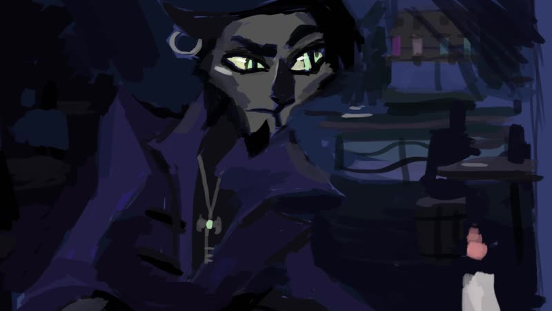 The beast of pirate's bay (new animatic)