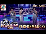 Your Face Sounds Familiar Kids 2018 TNT Boys as The Supremes Can't Hurry Love