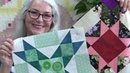Rainbow Sorbet Block of the Month for Oct 10