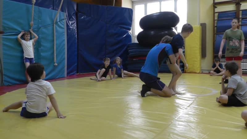 Тренеровка по борьбе Ас 04.2016