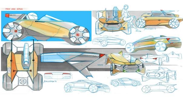 Проект Романа Крутикова Audi R2