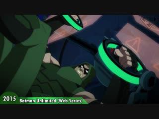 Green arrow (oliver queen) evolution in tv & cartoons (2018)