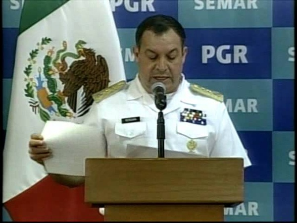 Presentan a La Ardilla, presunto jefe de Los Zetas en Tamaulipas