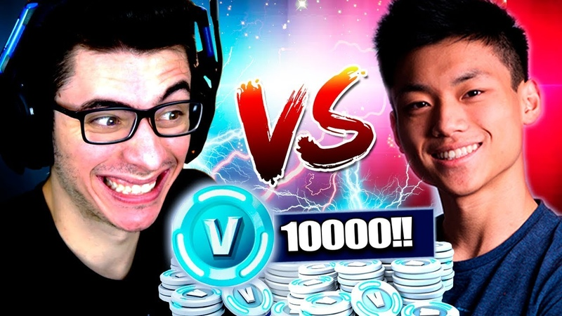 ATCHIIN VS FLAKES | VALENDO 10000 V-BUCKS NO FORTNITE!!