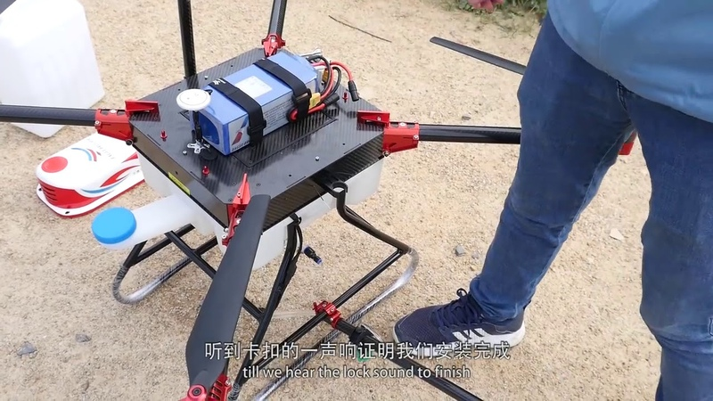 Shenzhen Eagle Brother / Agricultural drone - UAV spraying fumigation