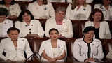 SICK: Democrats Sit Stone Faced As President Trump Calls For Ban On Late-Term A-bortions