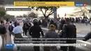 Новости на Россия 24 • В Рио полиции пришлось защищать олимпийский факел от протестующих