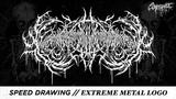 Speed Drawing Extreme Metal Logo - XavlegbmaofffassssitimiwoamndutroabcwapwaeiippohfffX