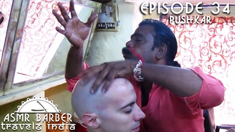 Worlds Greatest Head Massage 21 - Baba the Cosmic Barber - ASMR intentional
