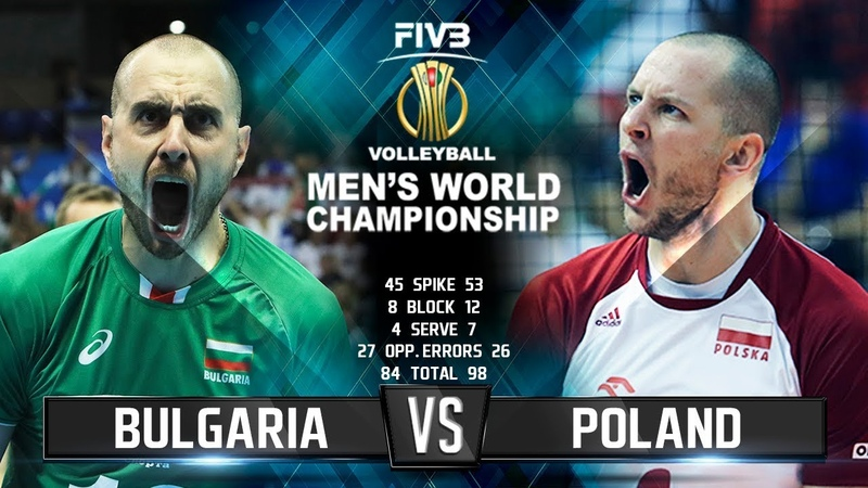 Bulgaria vs. Poland | Highlights | Mens World Championship 2018
