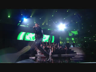 Rihanna, eminem, dr dre & skylar grey-live at the grammy 2011