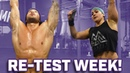 Cody Mooney and Caroline Conners take on Re-Test Week - Ring Dips, Dumbell Snatches, Toes to Bar