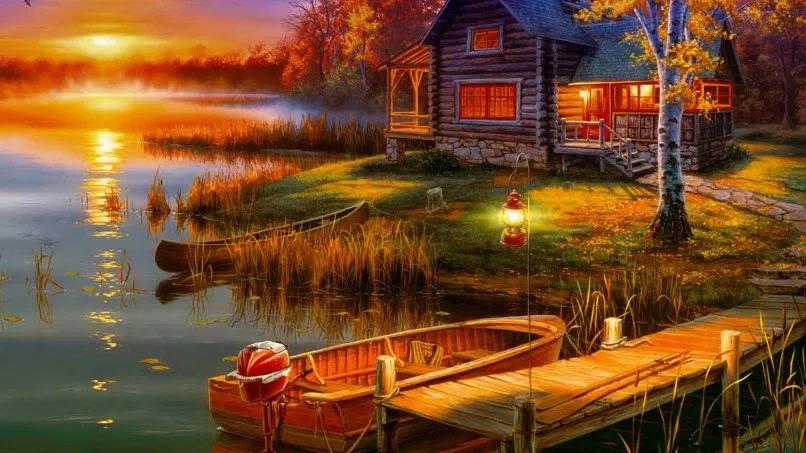 Картины, приносящие удачу, богатство, счастье, деньги, благополучие, любовь по фен-шуй
