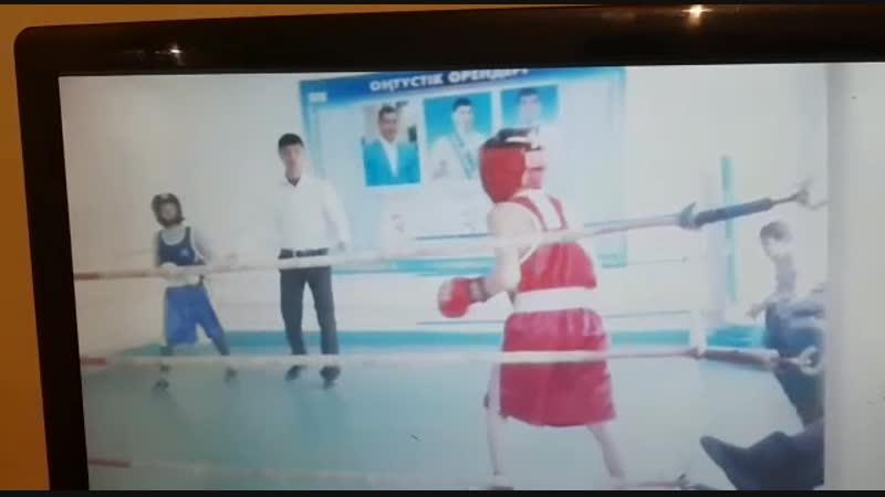 2012 32 кг Қабылов Жандаулет ең алғашқы жарысым 1 место🥊🥇