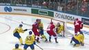 Сборная России Сборная Швеции Полная видеозапись игры Кубок Первого канала по хоккею 2018