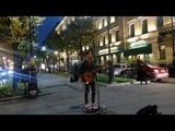 Eric Zenkov исполнил песню Амега - Лететь по белому свету на Невском проспекте в СПб 18.10.2018