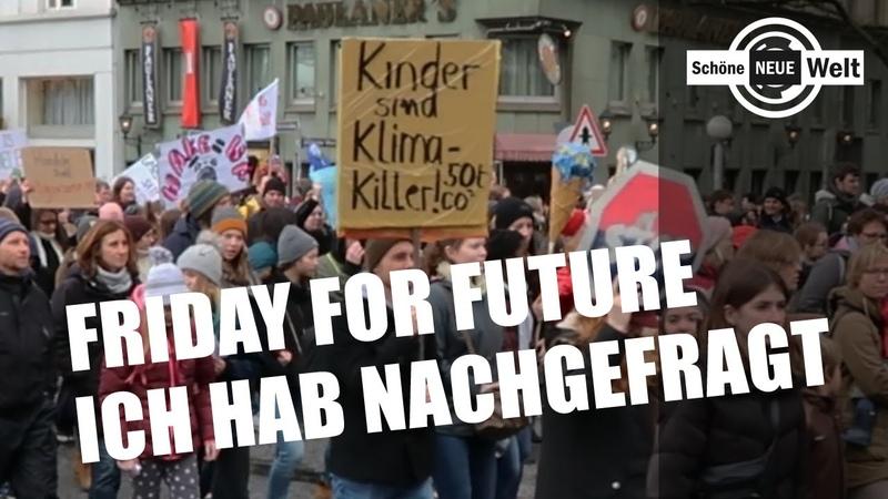 Friday for Future Ich hab nachgefragt HH