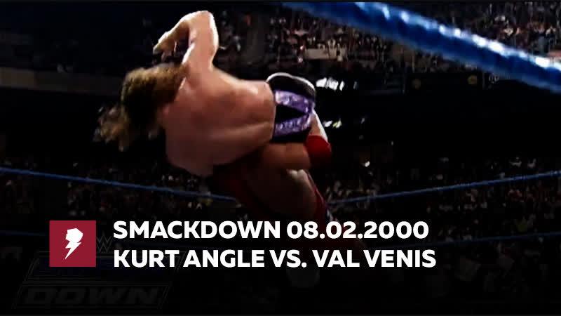 [My1] Смак за 8 февраля 2000 - Курт Энгл против Вал Вениса за Европейский титул
