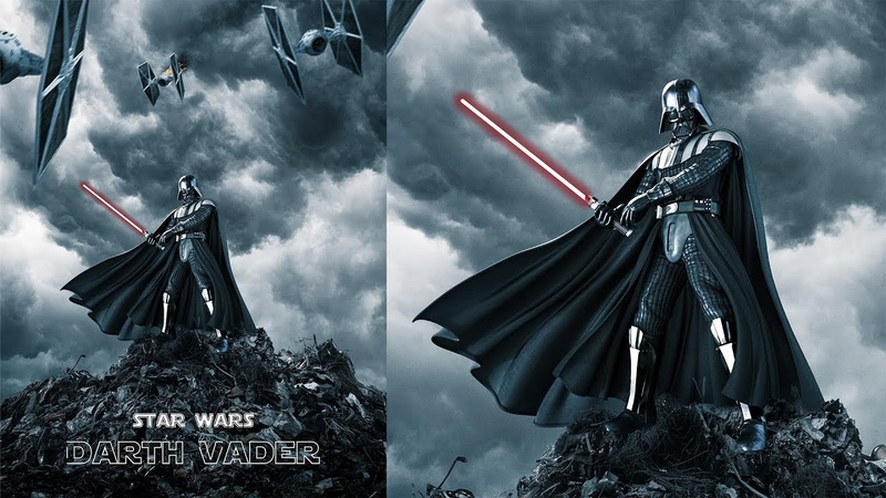 Darth Vader Photo Manipulation Tutorial