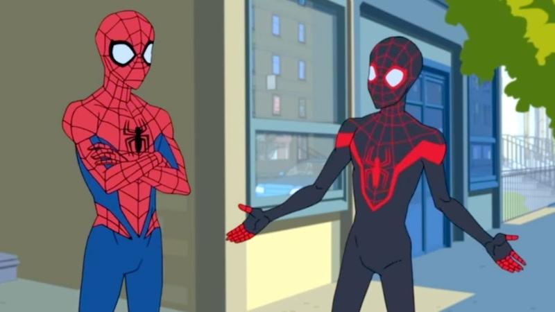 Marvel Человек паук 2017 сезон 1 серия 10 Совершенный Человек Паук