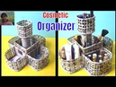 Creative Idea |Cosmetic Organizer From Newspaper | Best Out Of Waste Newspaper