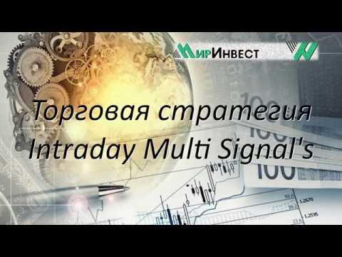 Презентация торговой стратегии Intraday Multi Signal's