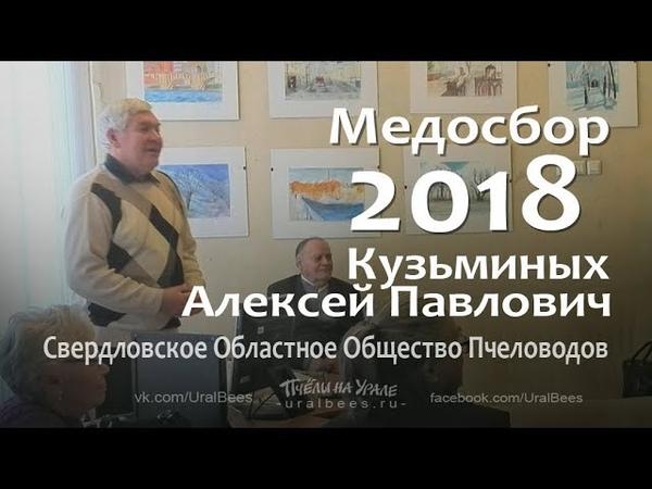 Итоги пчеловодного сезона Медосбор 2018 Общество пчеловодов Екатеринбург Кузьминых