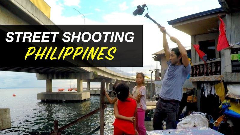 Street Shooting Philippines Sony a7sii gimbal