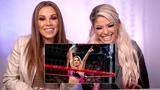 #video@alexablissdaily Alexa Bliss &amp Mickie James watch the first-ever Women's Elimination Chamber Match WWE Playback