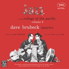 The Dave Brubeck Quartet альбом Jazz At The College Of The Pacific, Vol. 2