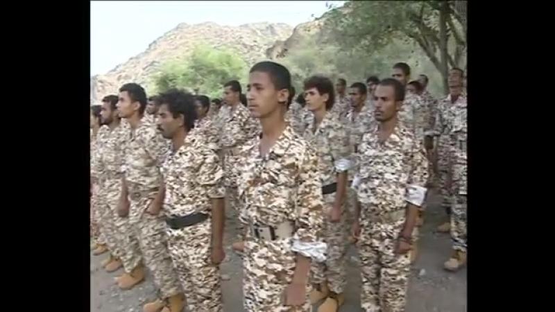 Выпуск солдат армии Йемена и сил безопасности в 4 военном округе