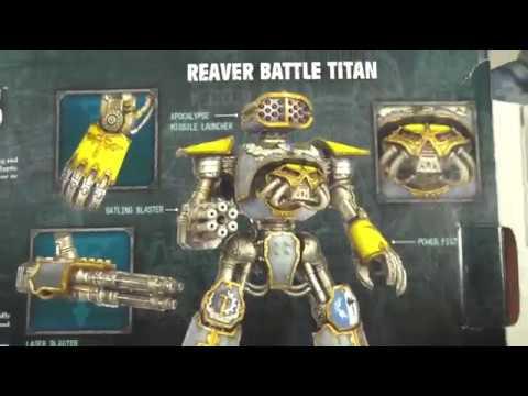 Unboxing от Лавочки Ская : Adeptus Titanicus Reaver Battle Titan