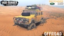 Spintires: MudRunner - LAND ROVER DEFENDER 110 Off-road Driving in The Desert