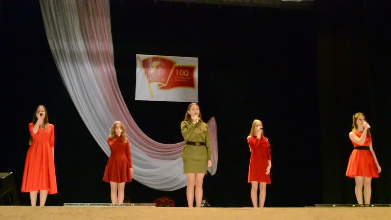 Комсомольцы добровольцы гр Частный Визит рук О Костенко