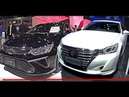 2017 Toyota Crown VS new Toyota Camry- The largest affordable luxury sedans