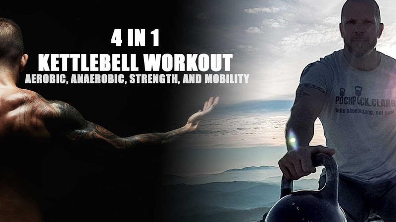 4 in 1 Kettlebell Workout 👍 30/45 Minute Workout