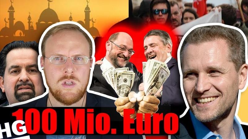 Ist das LEGAL SPD CDU zahlen Islam Lobby 100 Mio Euro