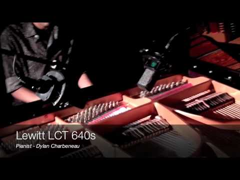 Recording Piano with 2 Lewitt LCT 640s
