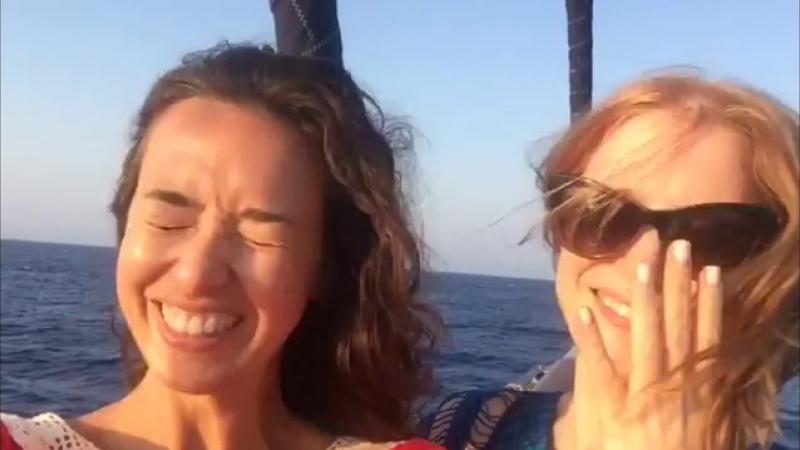 Джессика в публикации своей подруги 26 августа 2014