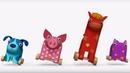 Деревяшки - Все серии подряд - Сборник развивающих мультиков для малышей