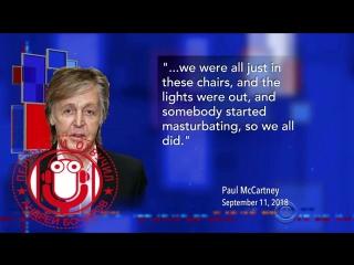 Пол МакКартни расказал как они группой Битлз вместе мастурбировали