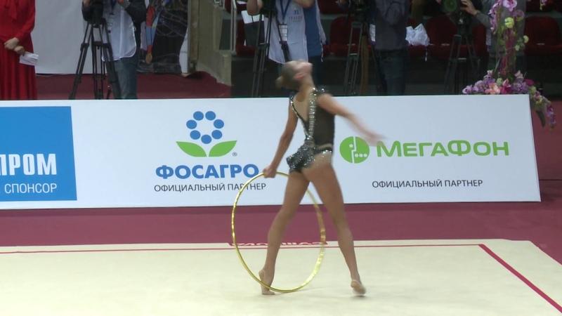 Alexandra Soldatova - Hoop AA GP Moscow 2019 21.30