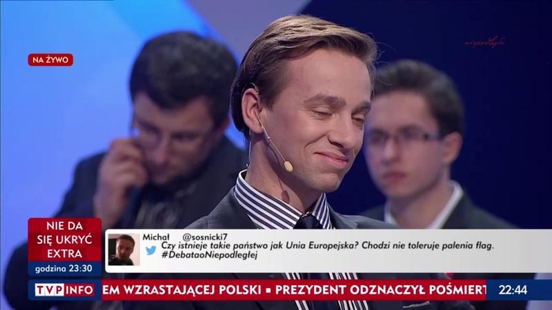 Strefa starcia – Debata o Niepodległej - 11.11.2018 - Marsz Niepodległości - Krzysztof Bosak