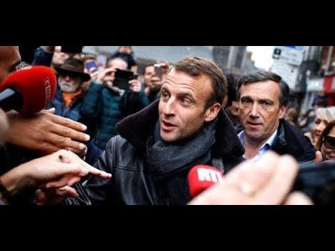 SCHLAPPE FÜR MACRON Le Pen überholt La République en Marche