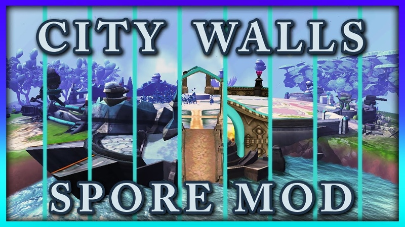 City Walls [SPORE MOD] (2007 beta walls included)