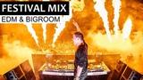 EDM Festival Mega Mix - Electro House &amp Bigroom ADE Music 2018