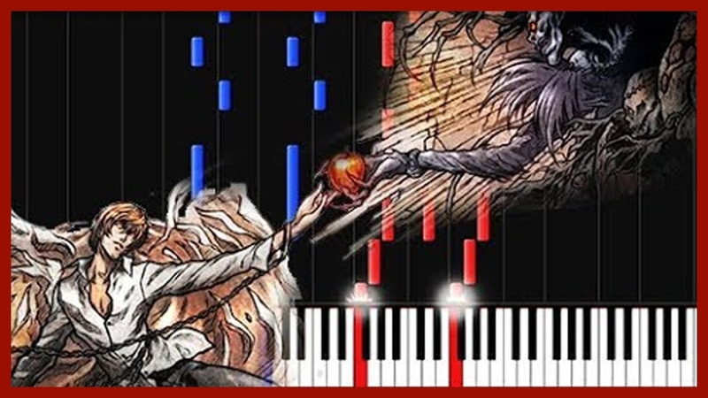 Low of Solipsism - Death Note [Piano Tutorial] (Synthesia) DiscoNNecteD