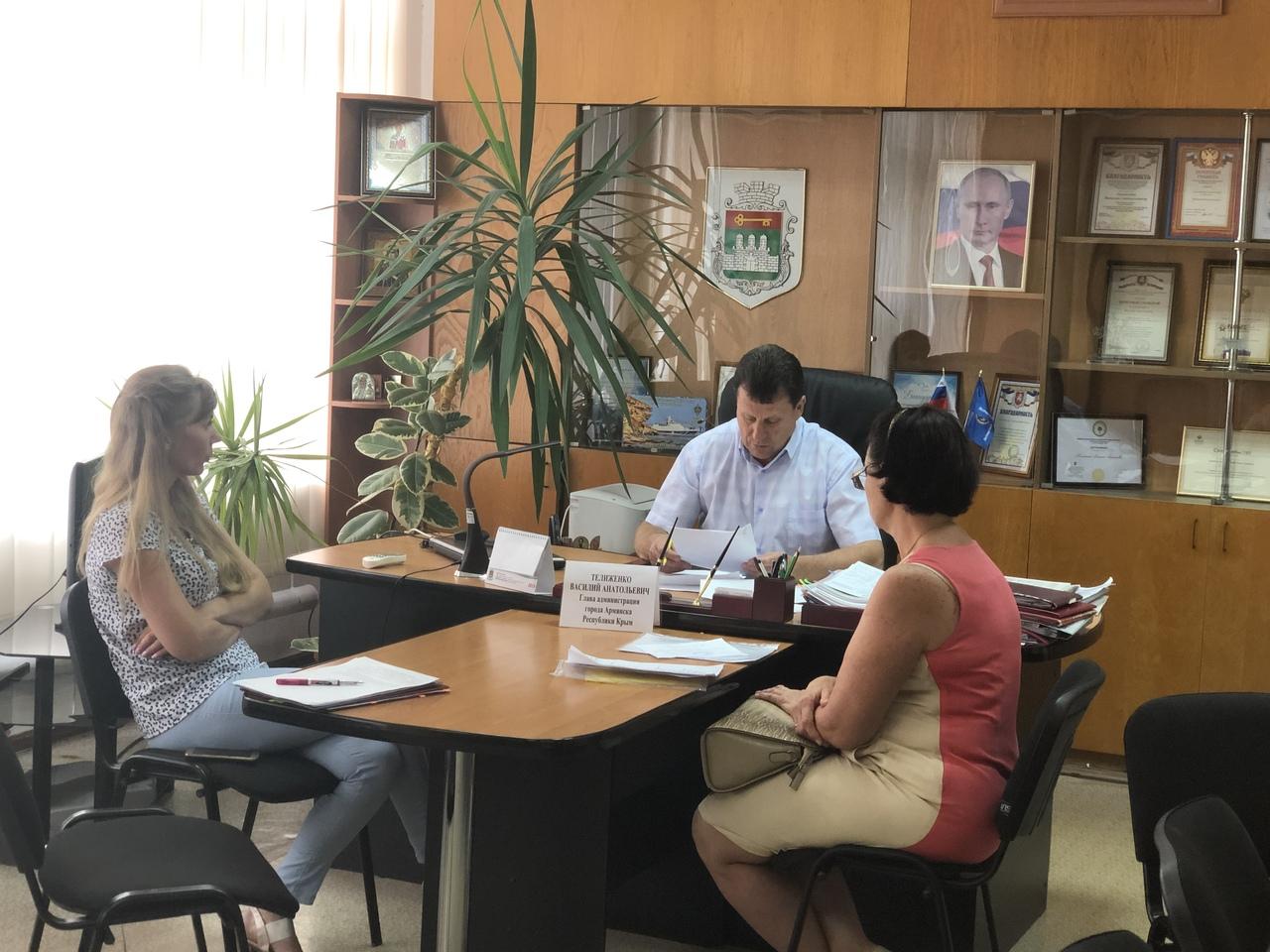 В администрации города состоялся прием граждан по личным вопросам.