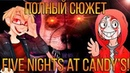 ПОЛНЫЙ СЮЖЕТ FNAC'А! СВЯЗЬ С FNAF?! - Теории Загадки Five Nights At Candy's (feat. MaXiMuS Channel)