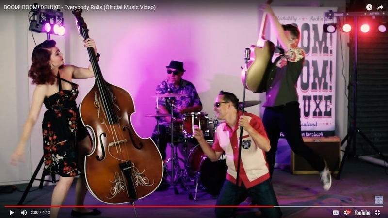 BOOM! BOOM! DELUXE - Everybody Rolls (Official Music Video) New Zealand Neo Rockabilly Rock n Roll